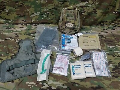 Eagle Industries SOF Multicam V.2 Medical Pouch w/ supplies MILITARY TACTICAL