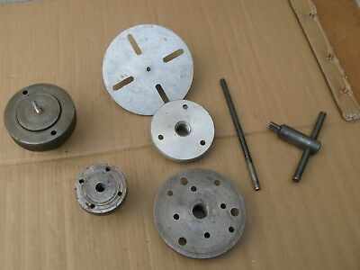 COLLECTION wood/metal LATHE Faceplates & Accessories