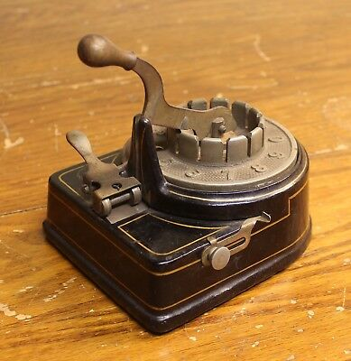 Antique Check Writer, Vintage Check Writer, Antique Office Equipment