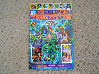 DC Comics Teen Titans WAL-MART 100 Page GIANT 2018 #7, Robin, Justice League