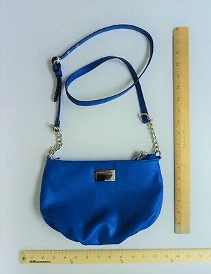 JUICY Couture Purse Hand Bag Tote ROYAL BLUE Cross Body Style - 1 day FLASH SALE