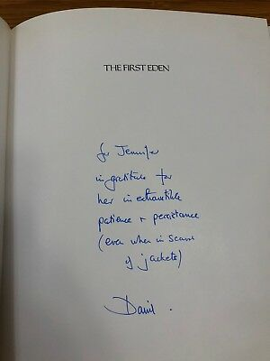 SIGNED DAVID ATTENBOROUGH 1/1 HBK Life On Earth / Blue Planet