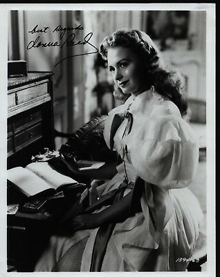DONNA REED Hand Signed Autographed Photo w/COA - IT'S A WONDERFUL LIFE - RANSOM!