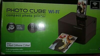 Ndb Vupoint Solutions Wifi Photo Cube Portable Printer 13215