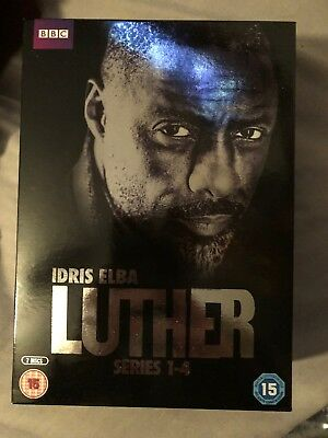 Luther Series 1-4 DVD Box Set