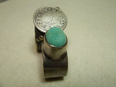 Tow Rare Solid Silver Rings - Roman & Indian