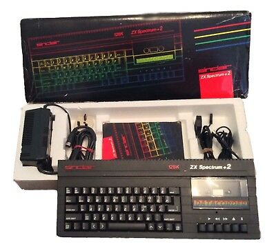Sinclair ZX Spectrum +2A 128k (Black) - Boxed and complete