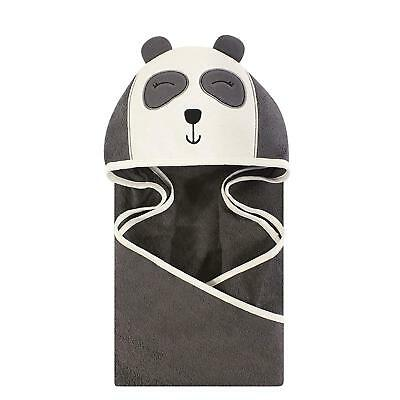 Hudson Baby Animal Face Hooded Towel, Modern Fox, One Size