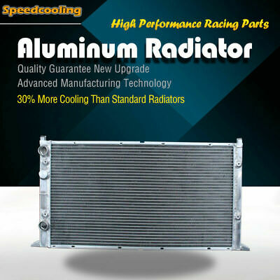 2094 2 ROW Aluminum Radiator For Volkswagen Golf 95-97 Jetta 1994-1998 V6 2.8L