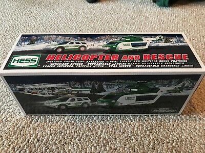 2012 Hess Helicopter and Rescue Truck NEW in box