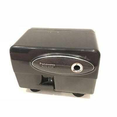 Panasonic KP-310 Auto Stop Electric Pencil Sharpener with Suction Feet - Works .