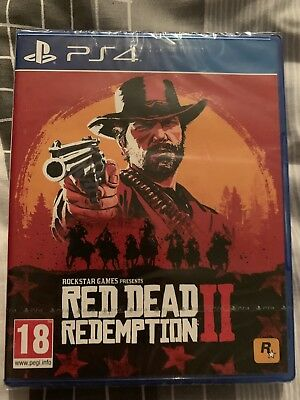 RED DEAD REDEMPTION 2 PS4 Brand New