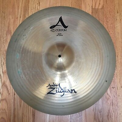 "Zildjian Custom A 20""/51cm Ride Cymbal for drumset"