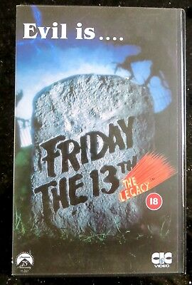 Friday The 13Th-The Legacy.big Box.vhs