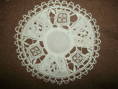 Collectible Vintage Handmade Doily  -  8
