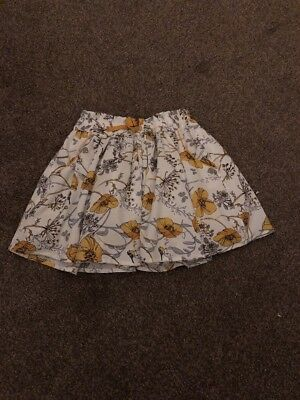 Next Floral Skirt Age 9-12 Months