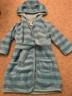 Boys Dressing Gown Robe TU Clothing 1-1&1/2 Year 12-18 Months