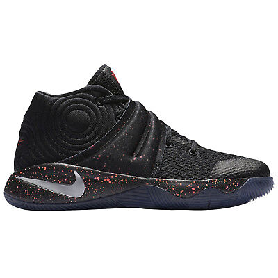 competitive price 39629 c24d0 NIKE Kyrie 2 (PS) Basketball Shoes sz 11C Black Red Speckle Crossover Pre-