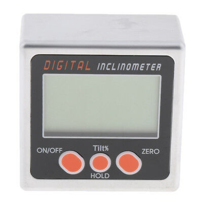 Electronic Digital Inclinometer Angle Meter Gauge Level Box - Magnetic