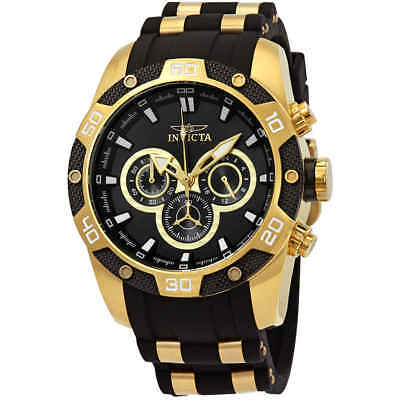 Invicta Speedway Chronograph Black Dial Men's Watch 25835