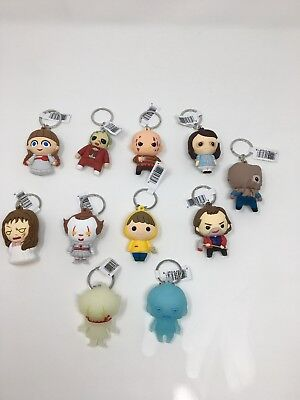 Horror Properties Series 3 Figural 3D Keychain COMPLETE SET all 11 Keychains