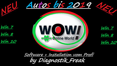 Diagnose software 2019 + installation  WoW W..th 2019 oder als download link .