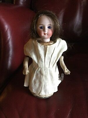 Antique Bisque Automated Wind Up Doll ( French?)