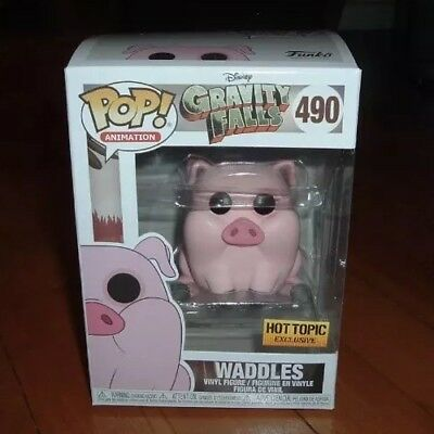 Funko Pop #490 Waddles Disney Gravity Falls Hot Topic Exclusive (OUT OF STOCK)