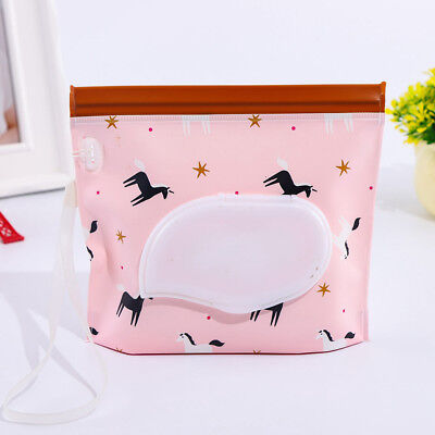 Wet Tissue Paper Bags Case Care Baby Wipes Napkin Storage Box Holder Containers