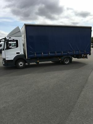 92dc54c19f Mercedes-Benz Atego 816 Day Cab Curtain Side Body with Tail Lift 7.5t Truck