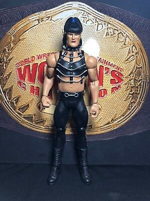 Custom Mattel WWE action figure of Chyna TotalDivaCustoms
