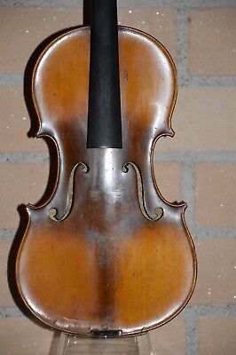 Old French violin 1920's, MARQUIS de L'AIR d'OISEAUX, good condition