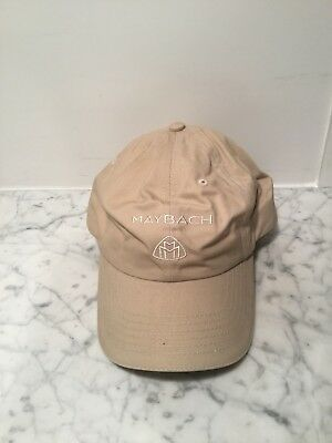 Maybach / Mercedes Tan Baseball Cap / Hat. NWT. Extremely Rare. Beige. Golf.