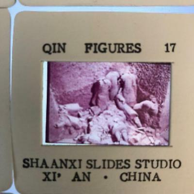 Qin Figures slide from The China Tourist Service Co 17