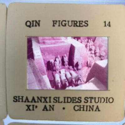 Qin Figures slide from The China Tourist Service Co 14