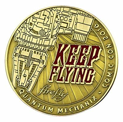 Character Goods - Challenge Coin - Firefly Keep Flying New ffy-0398