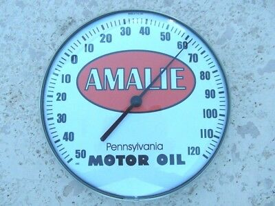 "12"" Amalie Motor Oil Thermometer"