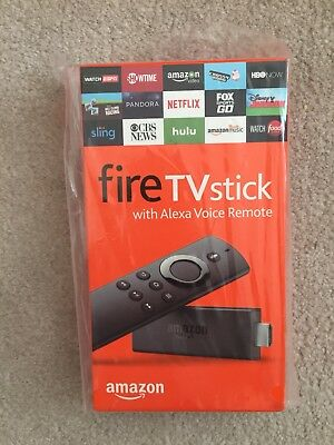 Brand New Amazon Fire TV Stick with Alexa Voice Remote 2nd Generation