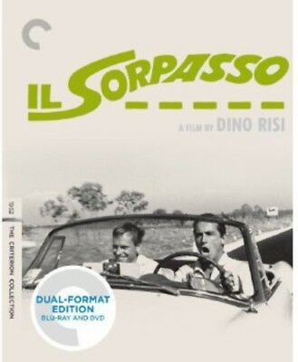 Sorpasso [Criterion Collection] [2 Discs] [Blu-ray/DVD] (Blu-ray Used Very Good)
