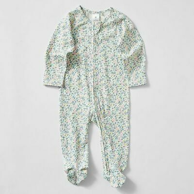 NEW Baby Organic Cotton Print Coverall