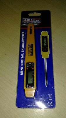 VS906 Sealey Mini Digital Thermometer [Engine]