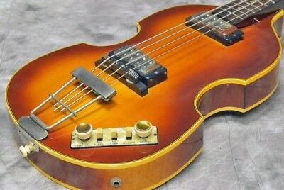 Hofner Beatles Bass 500/1 '63 Vintage Type-4 with hard case