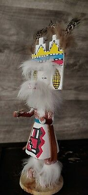 Kachina Doll Signed By Artist 8 In Tall