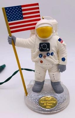 1994 The Eagle Has Landed Hallmark Ornament Magic Neil Armstrong Space Suit Moon