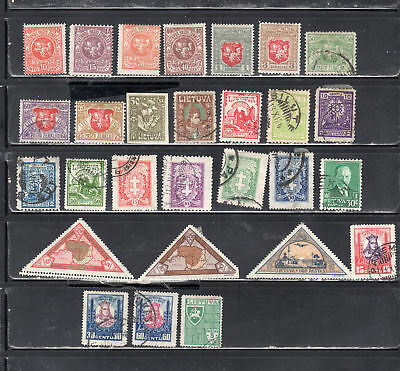 Lithuana Lietuva  Europe  Stamps Used  & Mh  Lot 37456