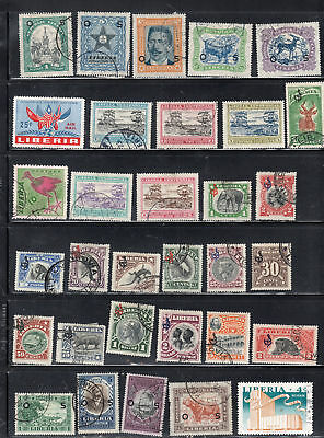 Liberia Africa Stamps Used And Mh  Lot 37458