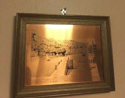 A Vintage Copper Engravings Of Bart & Looe  Cornwall  Made In England