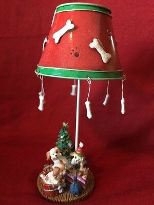 Kohl's Jack Russell Christmas candle holder lamp with tealight candle # H07322PH
