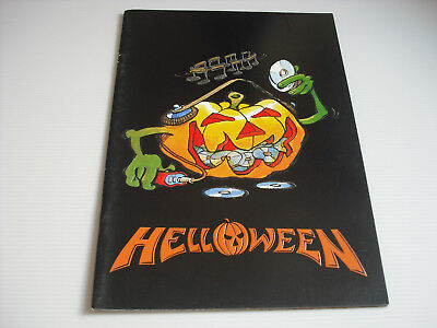 VERY RARE! HELLOWEEN Japan Tour Program 1993 Japanese Concert Brochure Book