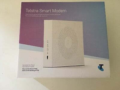 Telstra Smart Modem Unopened DJA0230 Wireless NBN FTTN & FTTB and ADSL